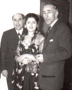 جهانگیر سرتیپ پور - محسن و فهیمه اکبر- ۱۳۳۴ رشت