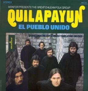 گروه شیلیایی کیلاپایون خواننده سرود خلق متحد