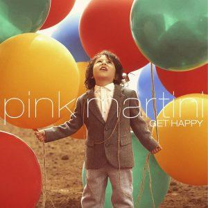 جلد آلبوم گت هپی از گروه پینک مارتینی
